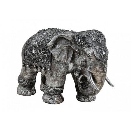 Slon polyresin 38x27x18cm
