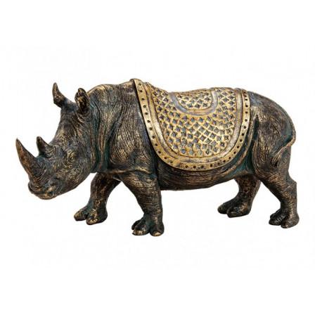Nosorožec polyresin 32x17x10cm