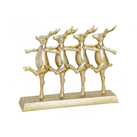 Soška Balet jelenů 30x24x7 cm