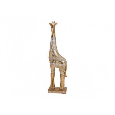 Žirafa Polyresin 7x47x12cm