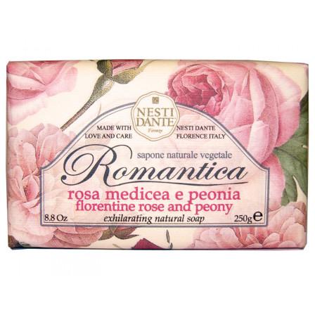Dárkové mýdlo- Florentinská růže a pivoňka 250g