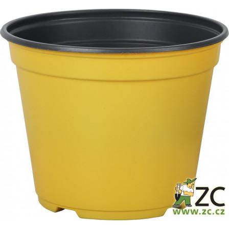 Kontejner Arca 14 cm žlutý