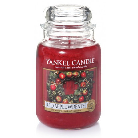 YANKEE CANDLE Classic velký - Red Apple Wreath 625g