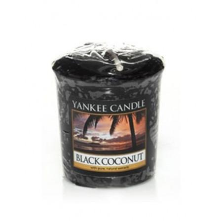 YANKEE CANDLE votivní svíčka - Black Coconut 50g