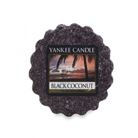 YANKEE CANDLE vosk - Black Coconut 22g
