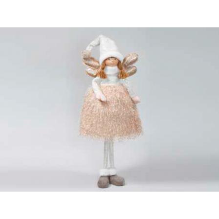 Figurka  anděl zlatý 108cm