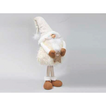 Figurka trol krémový s hvězdou 110 cm