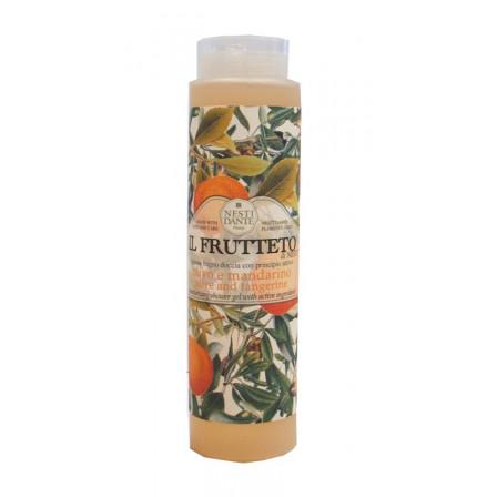 Sprchový gel - Olivový olej a mandarinka 300ml