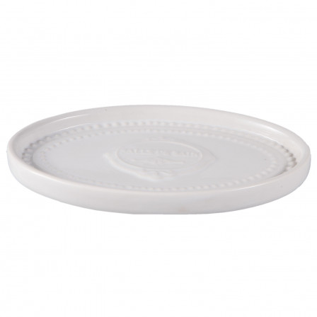 Miska na mýdlo bílá