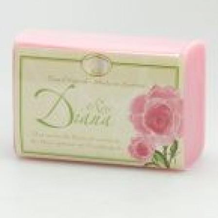 Mýdlo s ovčím mlékem 100g - vůně růže Diana