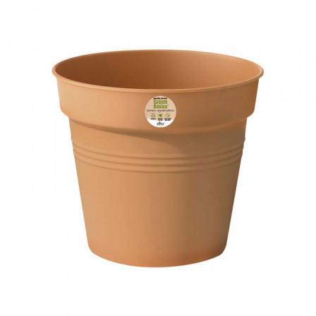 Květináč Elho Green Basics 11 cm mild terra