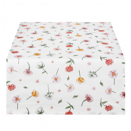 Ubrus bavlněný květy