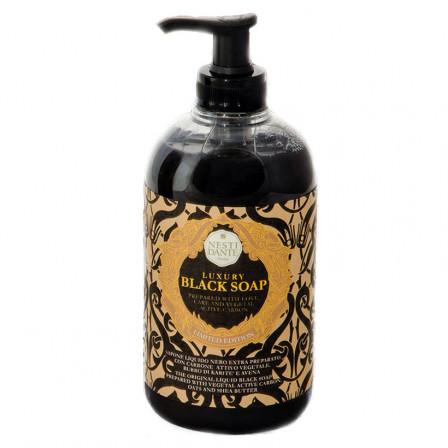 Tekuté mýdlo s pumpičkou 500ml BLACK GOLD