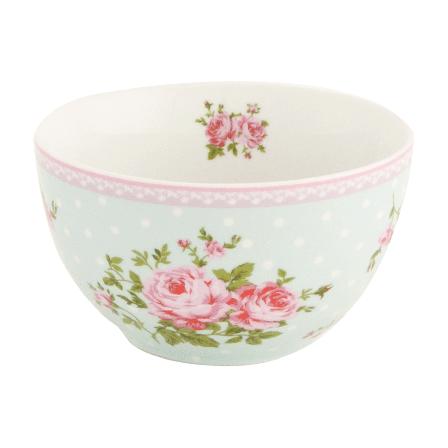 Porcelánová miska s květy