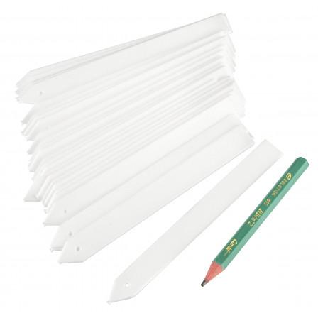 Štítky k rostlinám 50ks + 1x tužka