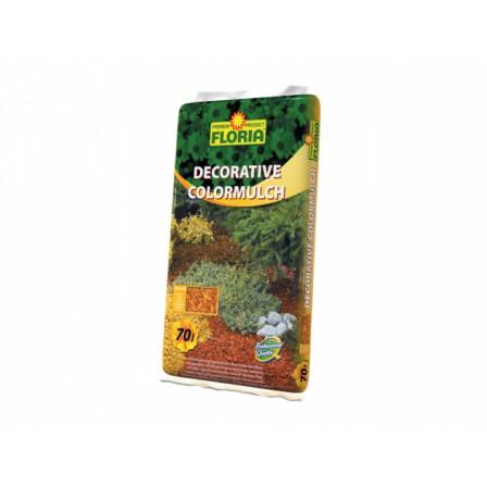 FLORIA Decor. ColorMulch žlutá 70 l