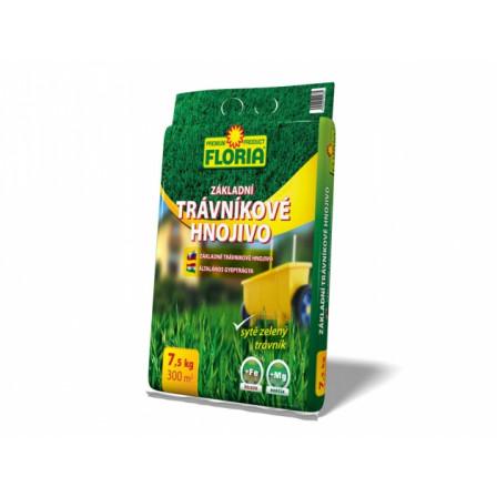 FLORIA Trávníkové hn. základní 7,5kg