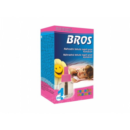 BROS-náhradní náplň do elektrického odpařovače - tekutá pro děti na 60nocí