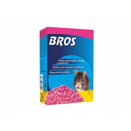 BROS-obilné vločky na myši,krysy a potkany 50g