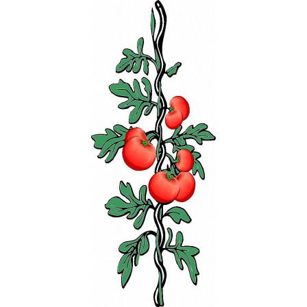 spirála pro rajčata 7x1800 mm, pozink