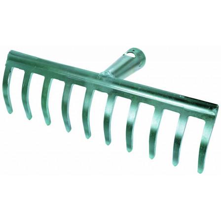 hrábě 25cm10 zubů pozink