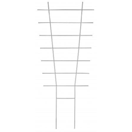 Zahradnická mřížka 77x34cm, kovová