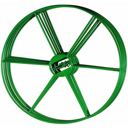 držák pro pnoucí rostliny zelený plast 400mm, 5ks