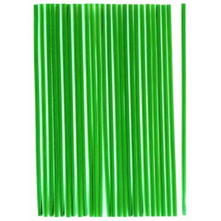pásky vázací  plastové s drátěnou vložkou 100ks