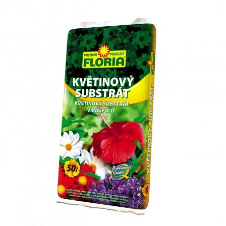 FLORIA Květinový substrát 50 l
