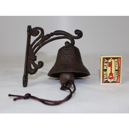 Zvonek litinový 13x11x7,5cm
