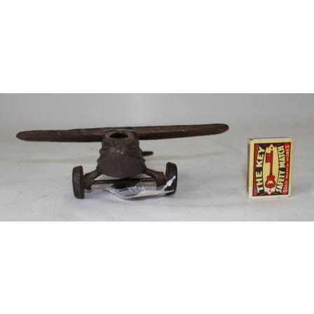 Letadlo litinové 6,5x19,5x18,5cm