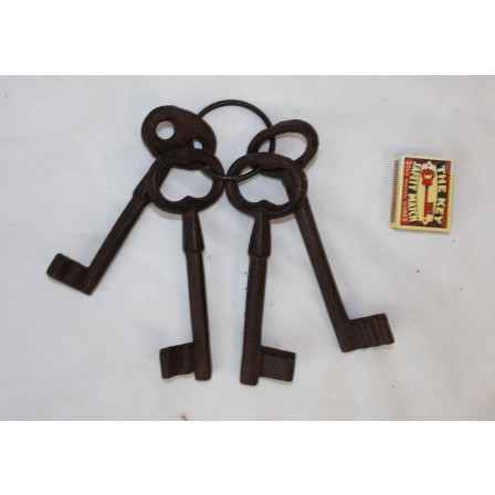 Svazek klíčů litina 20x6x1cm
