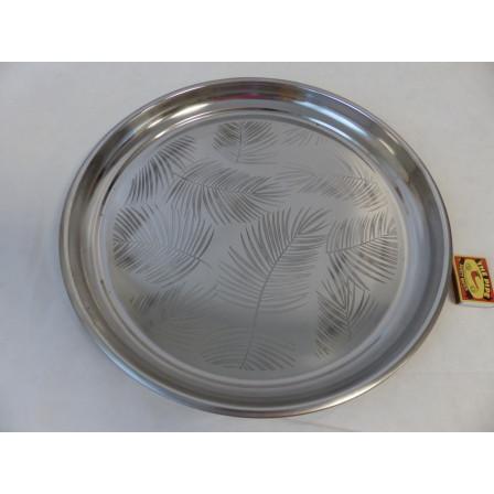 Servírovací talíř z nerezové oceli
