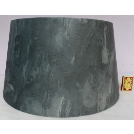 Stínidlo na lampu zelené 40x32x22cm TI