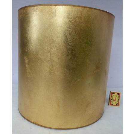 Stínidlo na lampu válcové zlaté 30x30x30cm TI