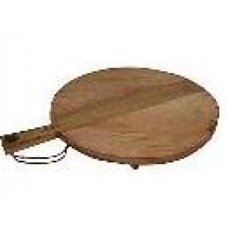 Servírovací a krájecí talíř, dřevěný