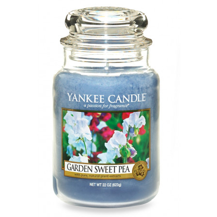 YANKEE CANDLE Classic velký - Garden Sweet Pea 625g