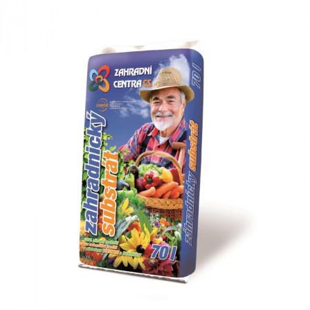 KS Zahradnický substrát 70l