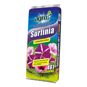 AGRO Substrát pro surfinie 40 + 5 l zdarma