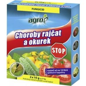 Agro Choroby rajčat a okurek STOP 2x10 g