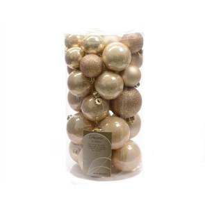 Vánoční ozdoby 30ks perlové