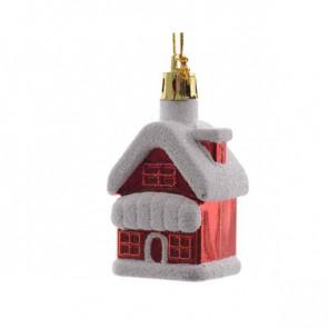 Vánoční ozdoba domeček 2ks