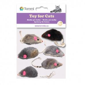 Mix 6 malých myšek mix, 5cm