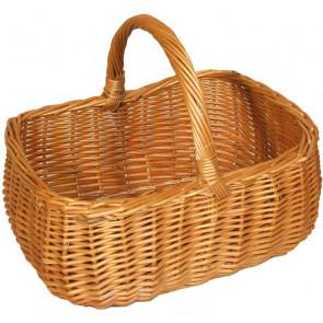 Košík hranatý s obloukem