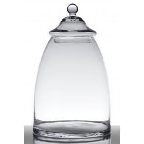 Skleněná sklenice Janine H38 D23 HAK