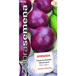 Dobrá semena Cibule jarní - Grenada červená 2g