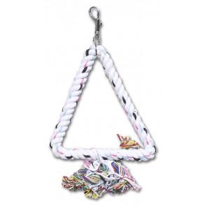 Bavlněný triangl pro papoušky