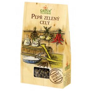 Pepř zelený celý 15g - dobré koření