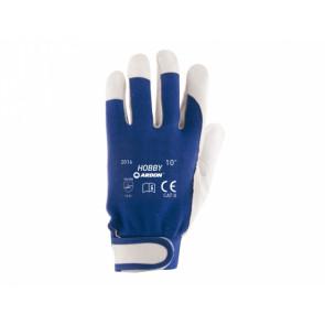 Pracovní rukavice HOBBY vel.10