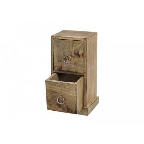 Dřevěná dekorační skříňka malá